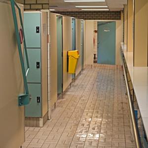Anti slip tile coating