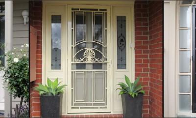 aluminium security doors in melbourne