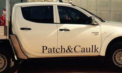 Patch-and-Caulk-van