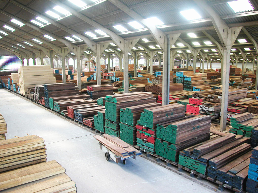 hardwood timber supplies