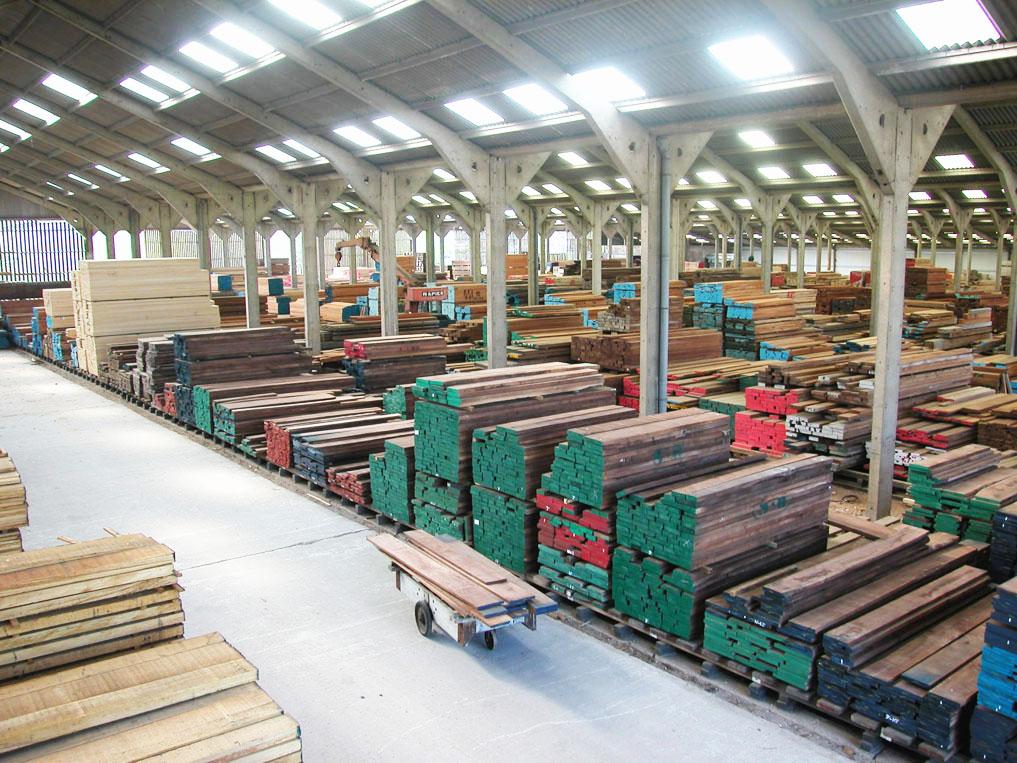 hardwood timber supplies