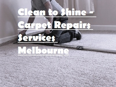 Carpet Stretch Repairs Melbourne