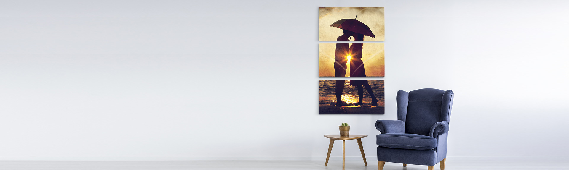 Multi Canvas Wall Display