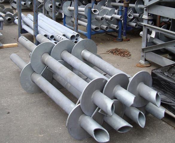 steel screw piles