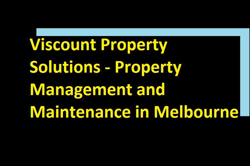 Viscount Property Services