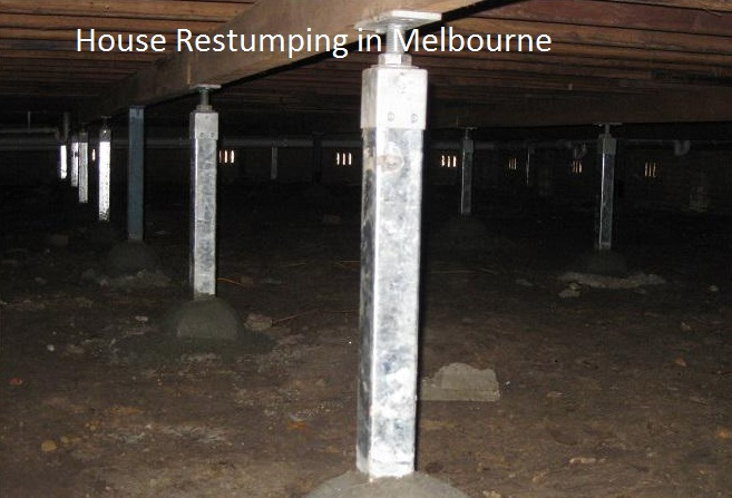 house restumping Melbourne