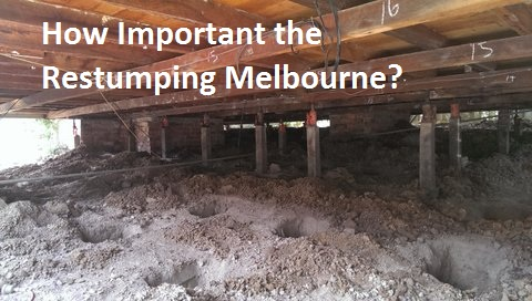 restumping in Melbourne