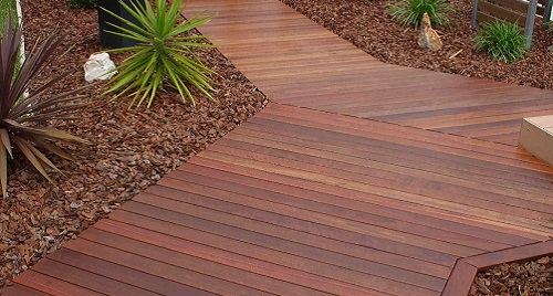 Ironbark Timber Decking Melbourne