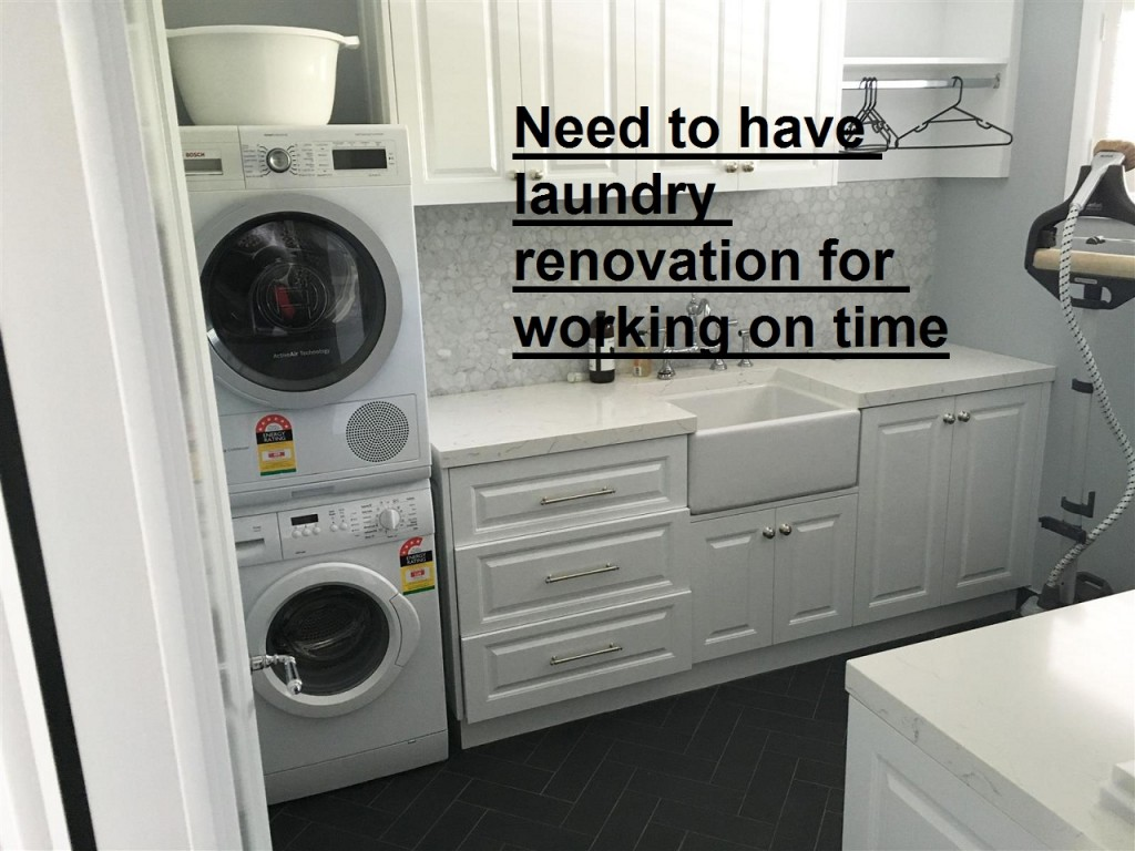 laundry renovation Melbourne