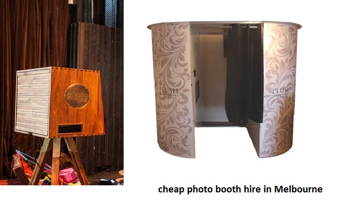 cheap photo booth hire in Melbourne