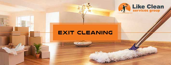 Exit Cleaning